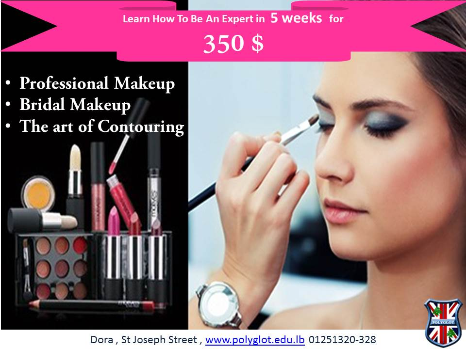 Make Up Courses. 5 weeks program + Official Certificate